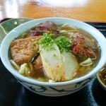くろちゃん - ソーキそば(大)600円
