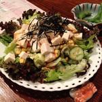 ずんどこべろんちょ - 豆腐サラダ ボリューム満点