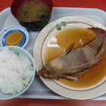 味さき - 201409 かすべ煮付け定食(1400円)