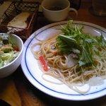 ゆずり葉 - パスタランチ950円