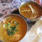 ウパハール - キーマと野菜カレー