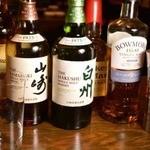 A5焼肉渕屋 - ワイン以外にも焼酎や日本酒など、各種ご用意。