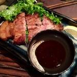 沖縄料理 金魚 - あぐーロースの香味焼き