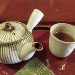 甘処 あかね - ほうじ茶
