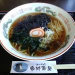見附茶屋 - 岩のりラーメン ¥800