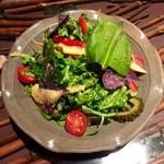 沖縄料理 金魚 - 本日の島野菜サラダ