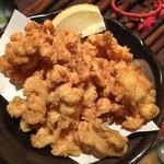 沖縄料理 金魚 - ミミガーの唐揚げ