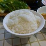 岩津屋 - 御飯3杯までおかわりOK