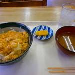 ポンド - 卵丼(350円)