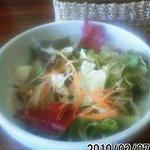 ステーキハウス テイスティ - 和食セットのサラダ