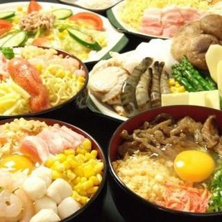宴会に最適なコース1500円~ご用意平日限定食放題1980円