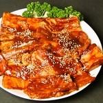 韓国家庭料理 済州 - ◇豚カルビ◇ヤンニョム骨付きカルビ