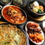韓国家庭料理 済州 - ◇まんぞくコース◇