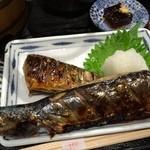 おひつ膳 田んぼ - 秋刀魚