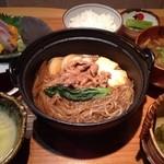 和食 たかもと - ランチの牛すき焼き定食