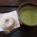 お石茶屋 - 抹茶セット
