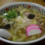 一冨士 - 五目中華そば 800円 松阪の名店不二屋の秘伝の味です