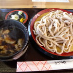 麺工房かたくり - 肉汁うどん(500円)_2010-02-07