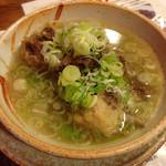 酒蔵 力 - 牛テールスープ