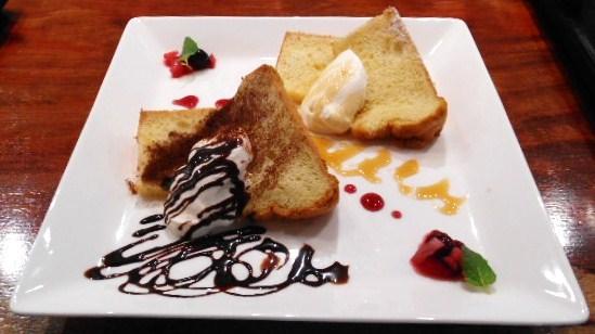 よつば珈琲 - 限定ランチプレート デザート
