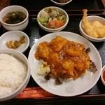 レストハウス・キング - 白身魚のチリソース定食【2014-10】