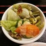 レストハウス・キング - 野菜サラダ【2014-10】