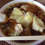 ラーメン 天一 - ワンタン麺