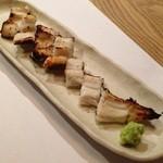 角壱 - 穴子の白焼き
