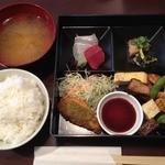 肴 - 松花堂風肴弁当(980円)