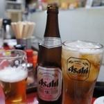 31796413 - 紹興酒のキリンレモン割りを作ってもらいました♪お連れさまはビール