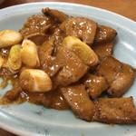 第一亭 - レバ味噌定食