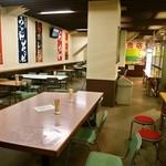 帯広競馬場 - 食堂