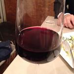 ミリオンダラー カフェ - グラスワイン(赤)600円