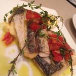 ミリオンダラー カフェ - 本日の鮮魚(サゴチ)のグリル