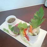 シトラス - 季節野菜のバーニャカウダ(800円)