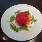 シトラス - 完熟トマトのファルシィサラダ