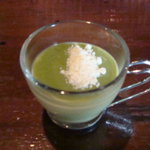 バグダッドカフェ - デザートの抹茶ムースです