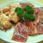 焼肉 一起 - ハラミと丸腸