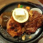 キッチンきむら - Bigステーキ盛り合わせ