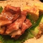 とくみ鮨 - ツマミに焼きアナゴ