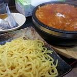 らー麺 武蔵 - 旨辛温麺850円