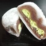 喜久水庵 - 抹茶クリーム
