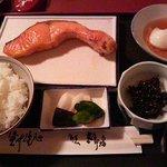 太郎坊 - 焼鮭定食