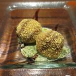 リストランテソットラルコ - 里芋のフリット