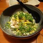 鳥貴族 - 棒々鶏風豆腐サラダ