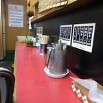 宇都宮みんみん - カウンターとテーブル席☆彡