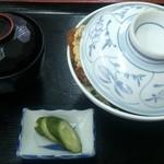 更科食堂 - カツ丼