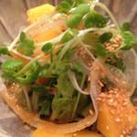 天宗 - 柿のサラダ