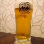 旬魚と個室 和食りん  - 生ビール