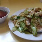 一丁 - 東伊豆のソールフード「肉チャーハン」です^^;